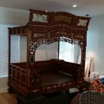 Bedroom set moved by a service company in New York