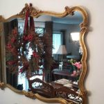 Antique mirror moved by services in New York