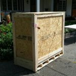 Unopened crate moved by services in New York